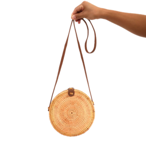 bali bag bruin rotan from east to west